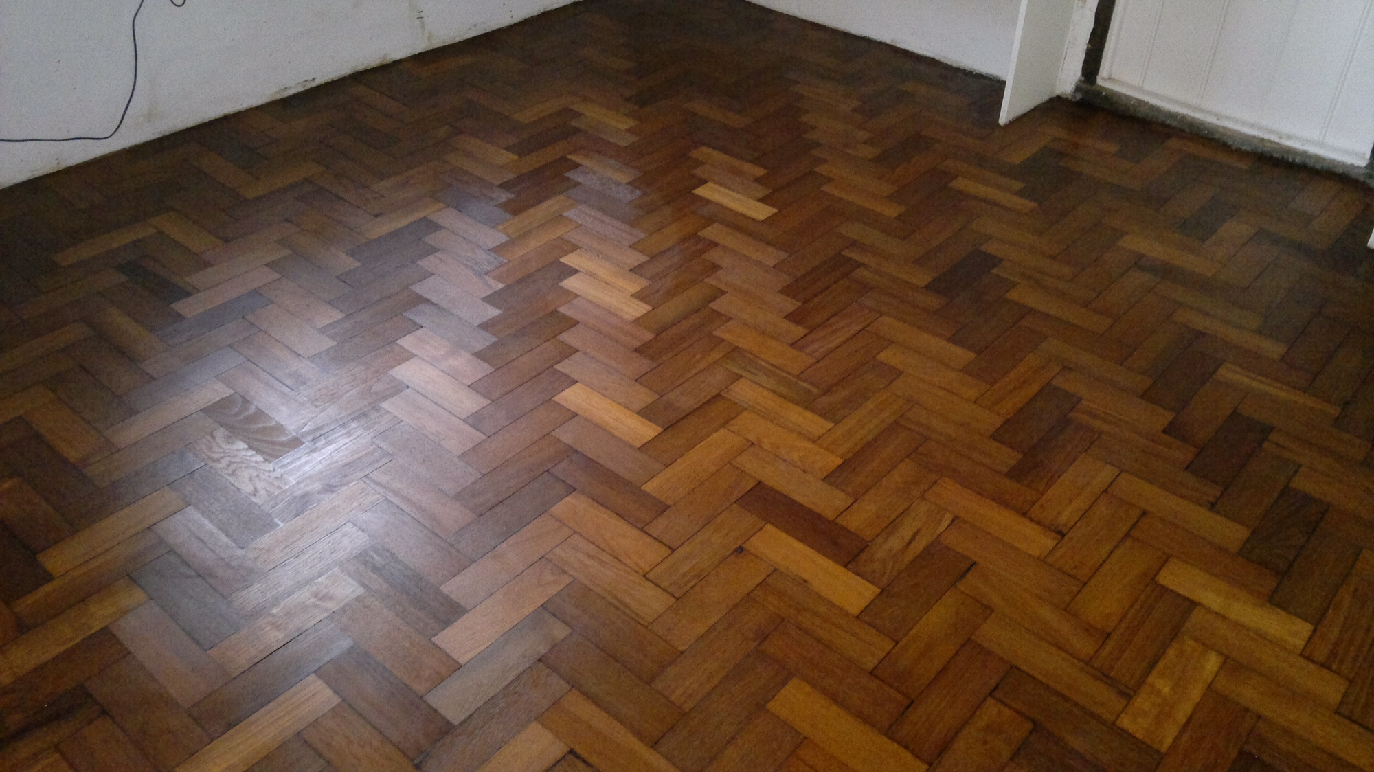 Parquet Flooring Repair After