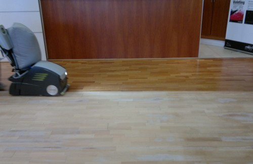 WOOD SANDING and OILING
