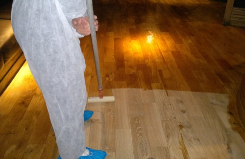 WOOD CLEANING and OILING